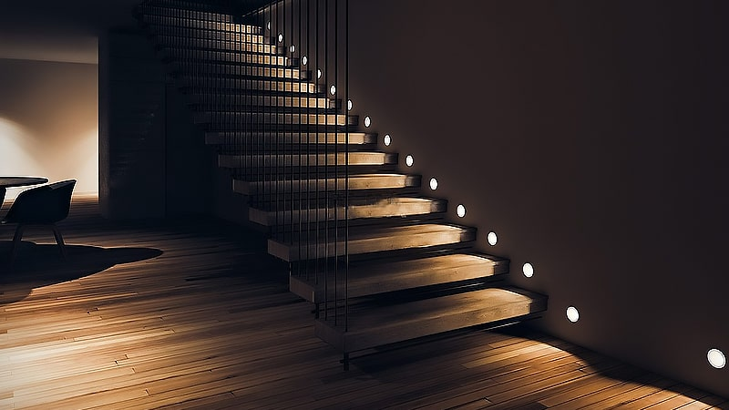 زاویه و جهت انعکاس نور لامپ ها