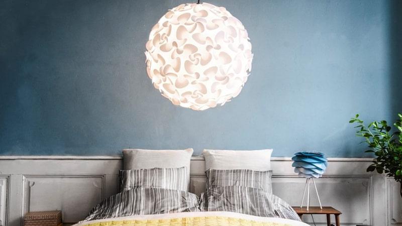 استفاده از نور محیطی در نورپردازی اتاق خواب