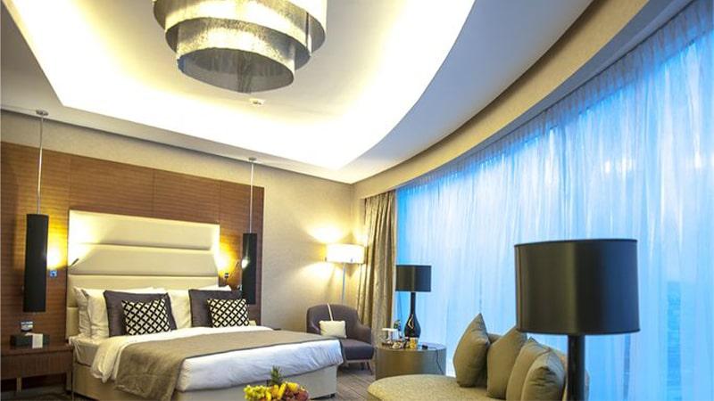 نورپردازی اتاق خواب با کناف