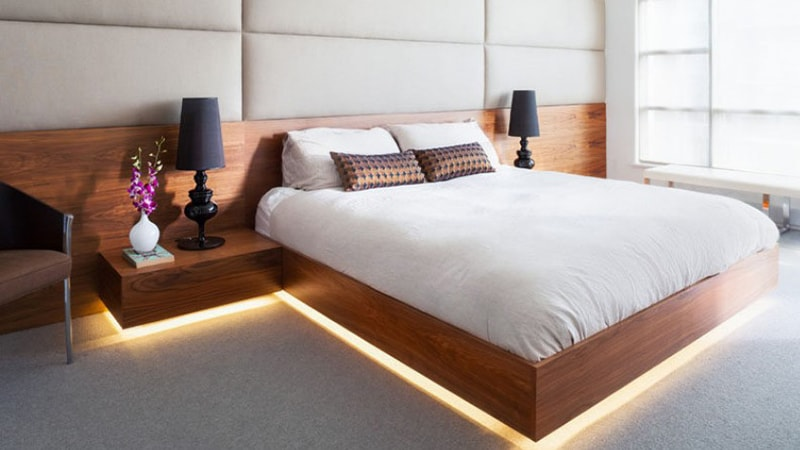 نکات مهم دیگر در نورپردازی اتاق خواب