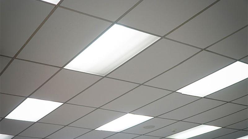 نور مخفی در سقف های کاذب شفاف پلیمری