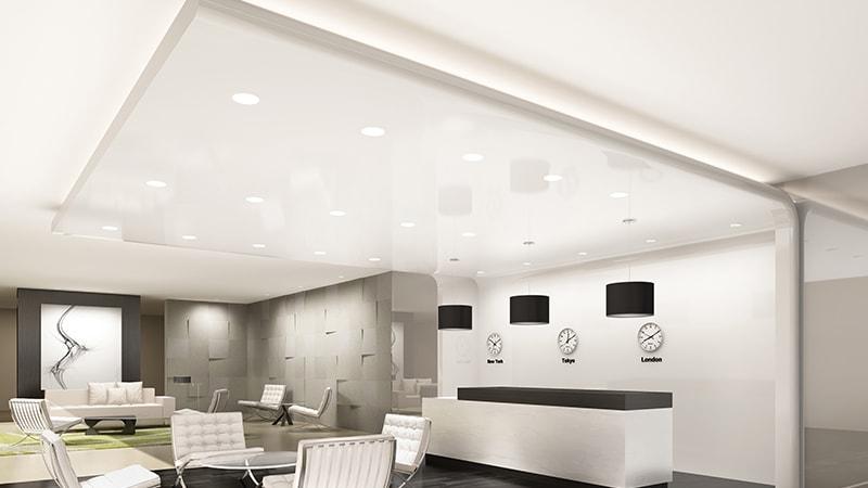 نورپردازی سقف مدرن