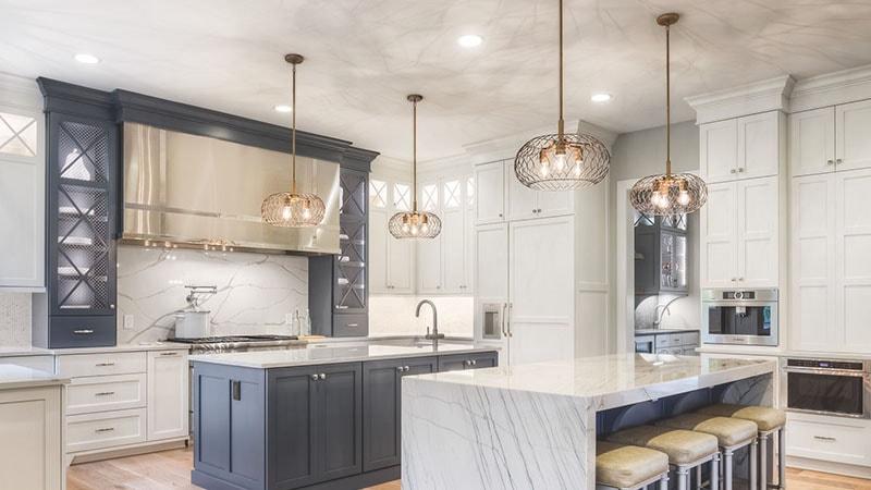تاثیر نورپردازی آشپزخانه در دکوراسیون داخلی