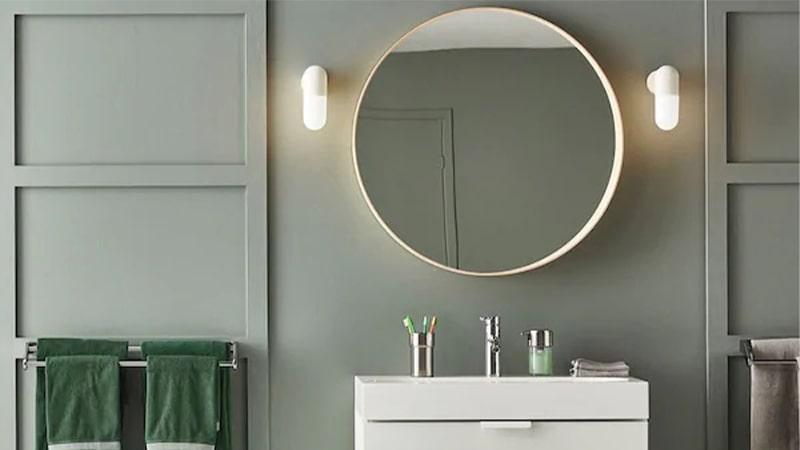 تامین نور کافی برای روشنایی سرویس بهداشتی و حمام
