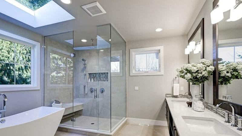 کدام نورپردازی برای سقف سرویس بهداشتی و حمام مناسب است ؟