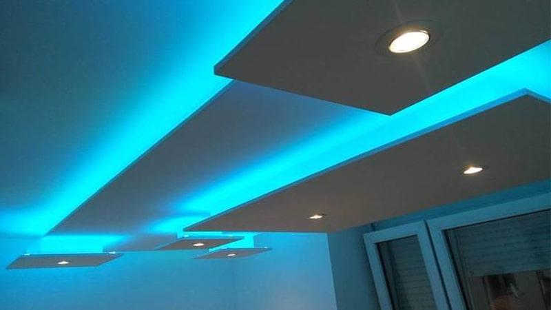 استفاده از LED های رنگی
